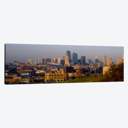 High angle view of a cityscape, Kansas City, Missouri, USA Canvas Print #PIM983} by Panoramic Images Canvas Print