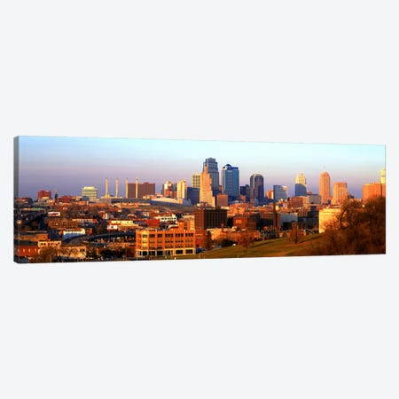 Kansas City MO Canvas Print #PIM984} by Panoramic Images Canvas Artwork