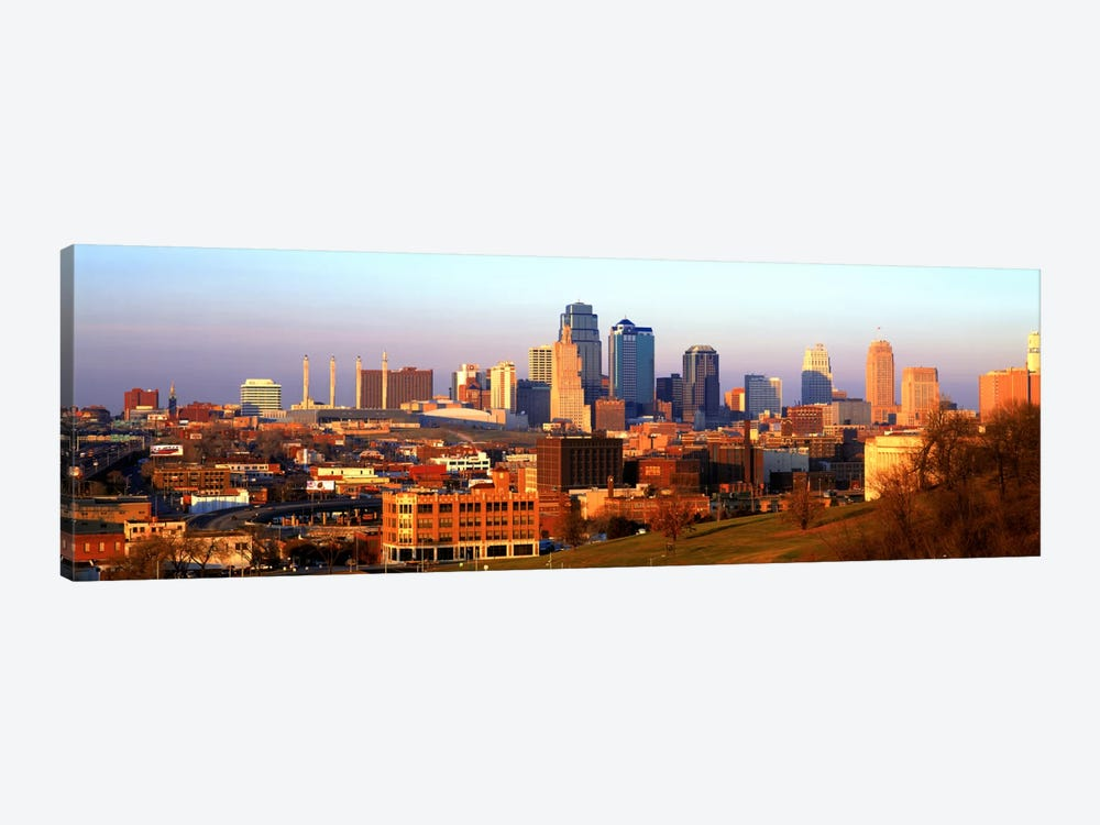 Kansas City MO by Panoramic Images 1-piece Canvas Wall Art