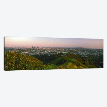 CityscapeSanta Monica, City of Los Angeles, Los Angeles County, California, USA Canvas Print #PIM9850} by Panoramic Images Art Print