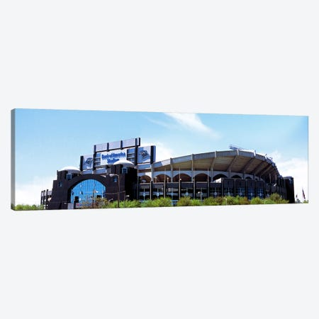Football stadium in a city, Bank of America Stadium, Charlotte, Mecklenburg County, North Carolina, USA Canvas Print #PIM9864} by Panoramic Images Canvas Print