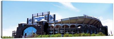 Football stadium in a city, Bank of America Stadium, Charlotte, Mecklenburg County, North Carolina, USA Canvas Art Print