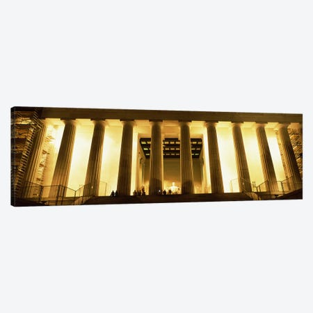 Columns surrounding a memorialLincoln Memorial, Washington DC, USA Canvas Print #PIM9875} by Panoramic Images Canvas Art