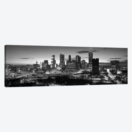 Skyscrapers in a city, Atlanta, Georgia, USA Canvas Print #PIM9877} by Panoramic Images Canvas Art