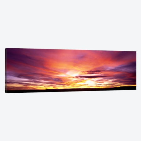 Sunset, Canyon De Chelly, Arizona, USA Canvas Print #PIM98} by Panoramic Images Canvas Art Print