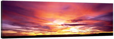 Sunset, Canyon De Chelly, Arizona, USA Canvas Art Print