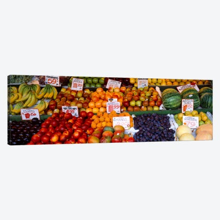 Pike Place Market Seattle WA USA Canvas Print #PIM990} by Panoramic Images Canvas Wall Art