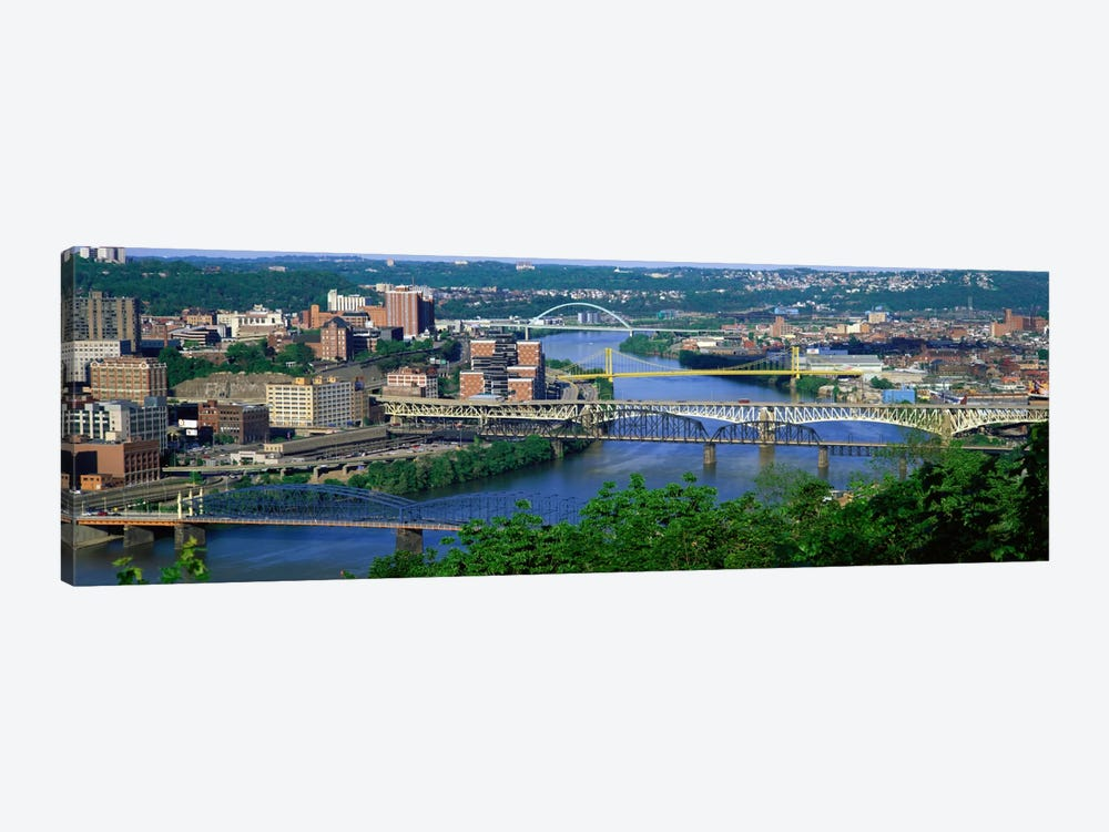Monongahela River Pittsburgh PA USA by Panoramic Images 1-piece Canvas Art