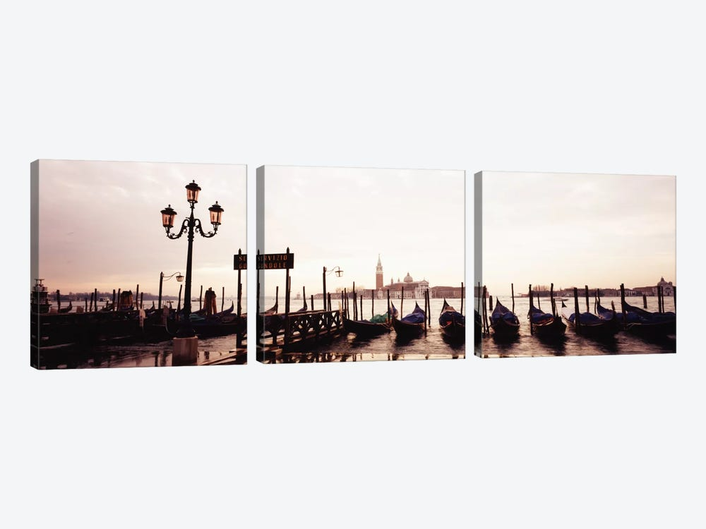 San Giorgio Venice Italy by Panoramic Images 3-piece Canvas Art Print