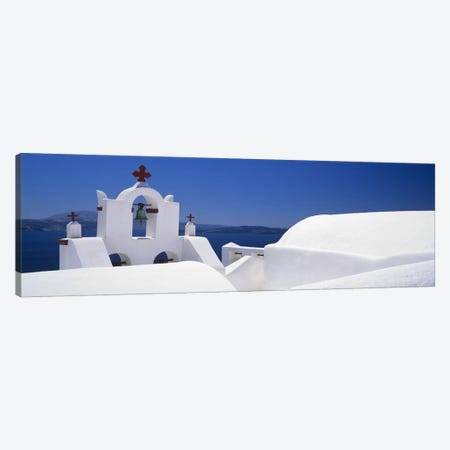 Church, Oia, Santorini, Cyclades Islands, Greece Canvas Print #PIM9981} by Panoramic Images Canvas Art Print