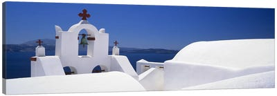 Church, Oia, Santorini, Cyclades Islands, Greece Canvas Art Print