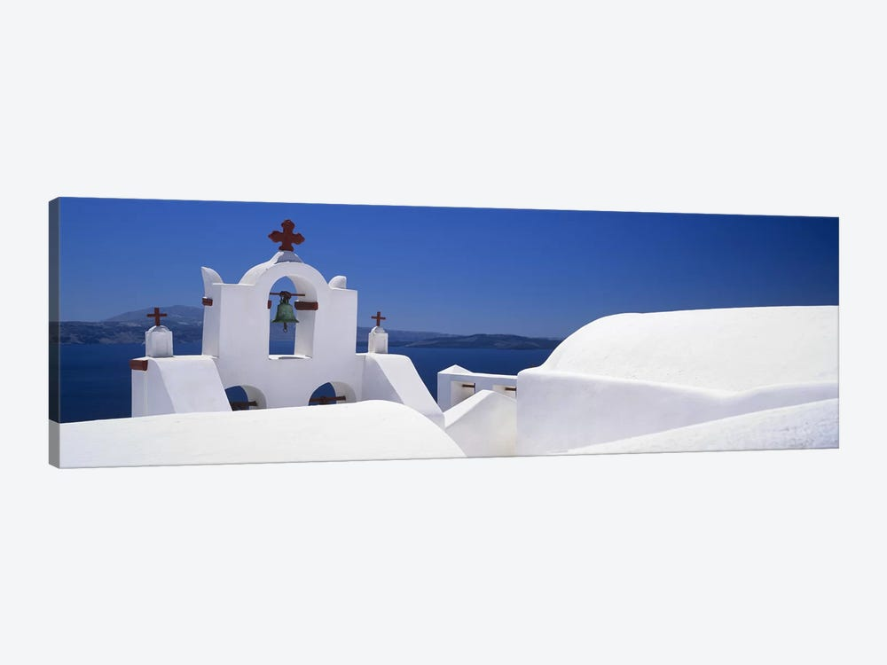Church, Oia, Santorini, Cyclades Islands, Greece 1-piece Canvas Art