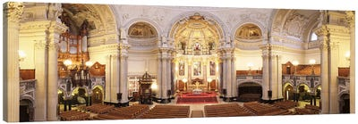 Interiors of a cathedral, Berlin Cathedral, Berlin, Germany Canvas Print #PIM9999