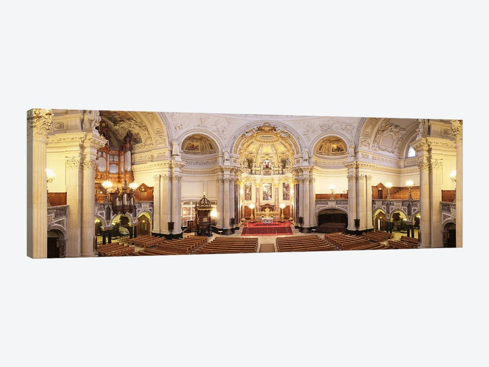 Interiors of a cathedral, Berlin Cathedral, Berlin, Germany by Panoramic Images 1-piece Canvas Art Print