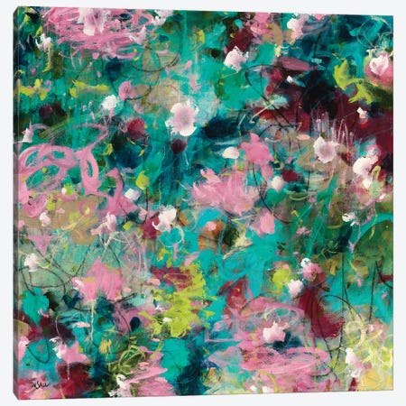 Joyous Beginnings Canvas Print #PIN11} by Paulette Insall Canvas Artwork