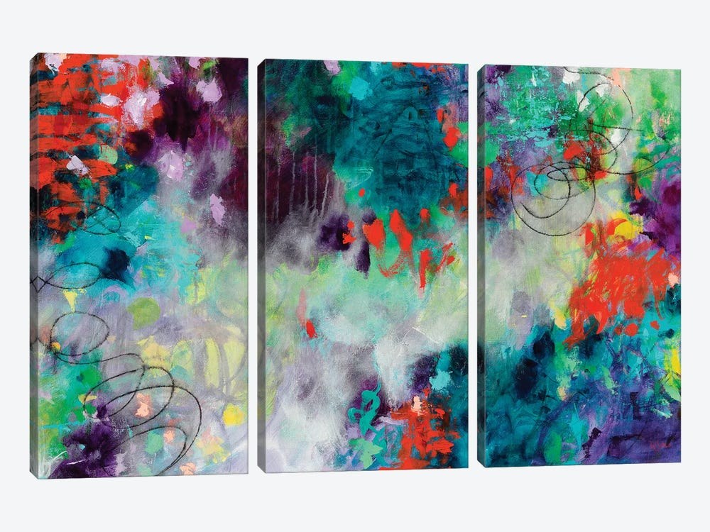 Sovereign Majesty by Paulette Insall 3-piece Canvas Artwork