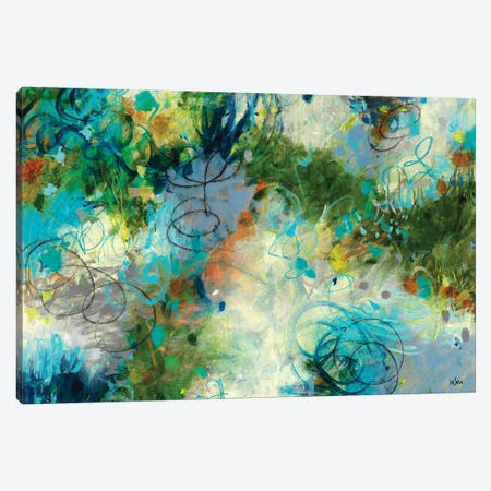 Touch The Sky Canvas Print #PIN17} by Paulette Insall Canvas Art Print