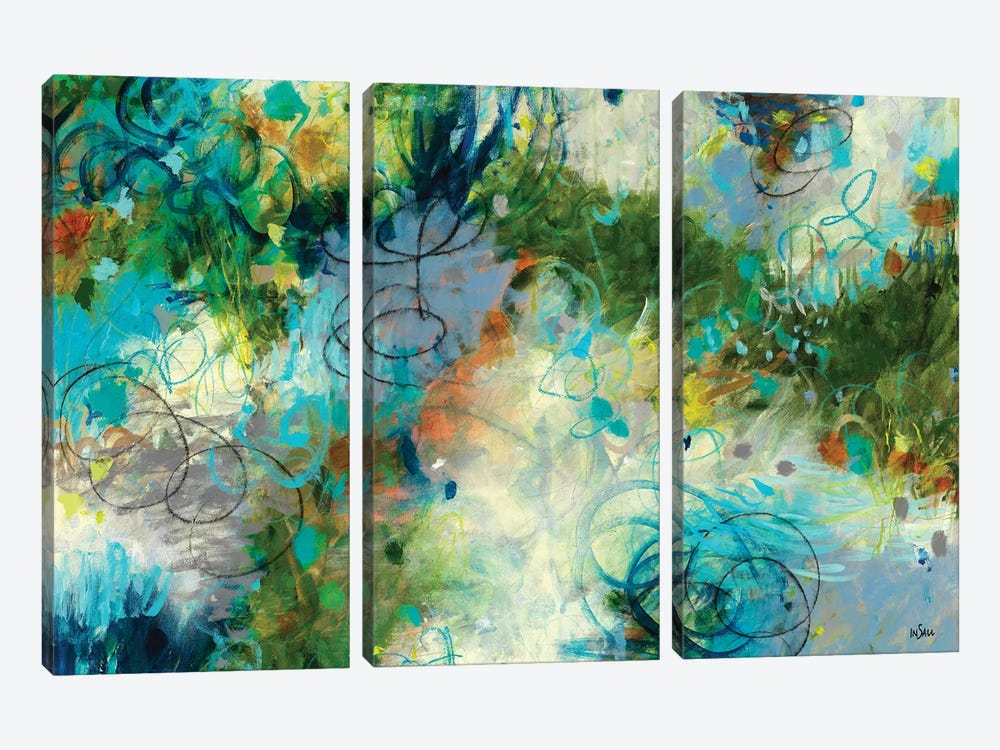 Touch The Sky by Paulette Insall 3-piece Canvas Artwork