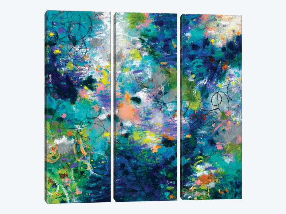 Deeper Than The Ocean by Paulette Insall 3-piece Canvas Art