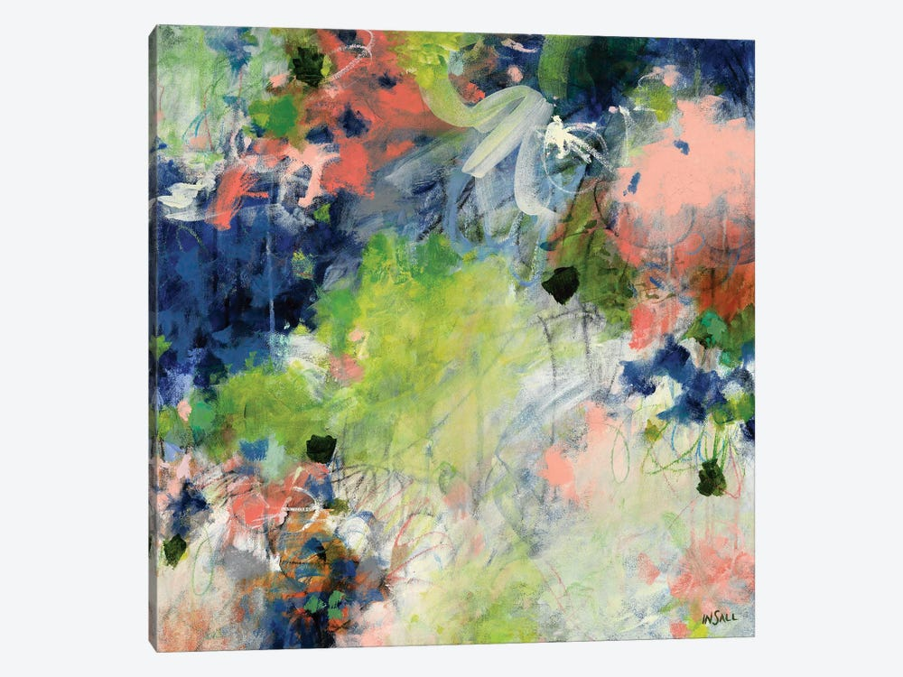 Even When I Can't See by Paulette Insall 1-piece Canvas Wall Art
