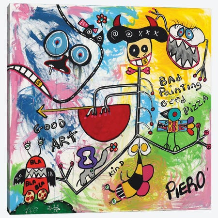 Bee Eggs Canvas Print #PIR10} by Piero Canvas Art