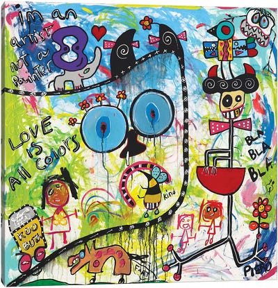 Rain Bow Canvas Art Print
