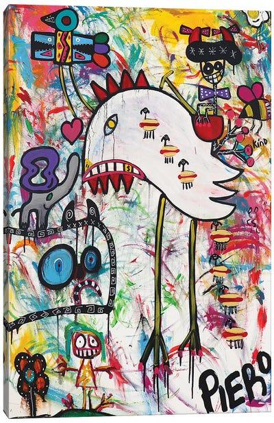 The Chicken Canvas Art Print