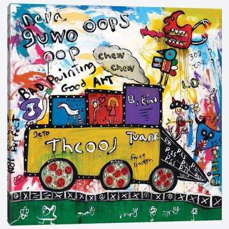 Train Canvas Print #PIR138} by Piero Art Print