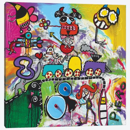 Train Edge Canvas Print #PIR139} by Piero Canvas Print