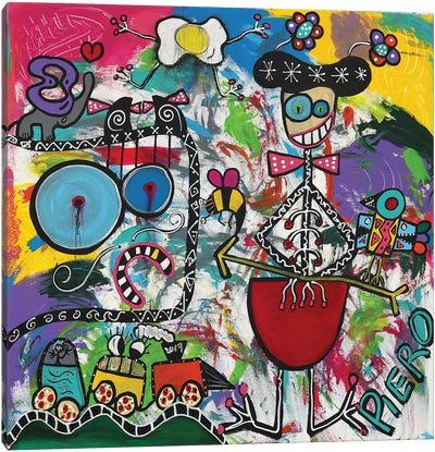 Diago Canvas Art Print