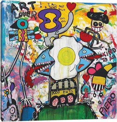 Art Lover Canvas Art Print