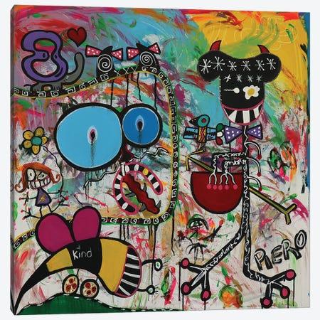 Egg Eye 3-Piece Canvas #PIR44} by Piero Canvas Art