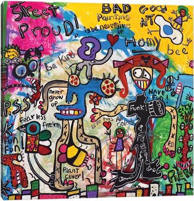 Funk Canvas Art Print