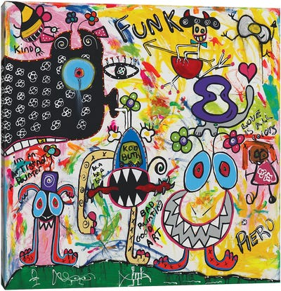 Funk Creature Canvas Art Print