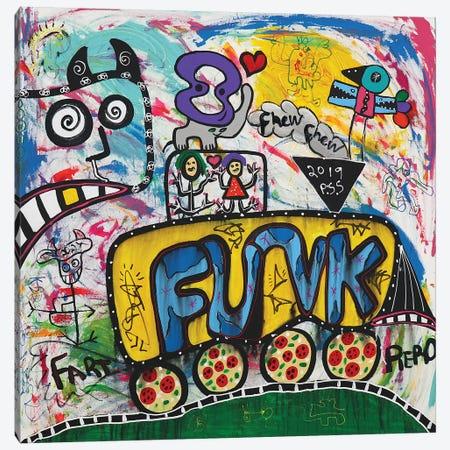 Funk Fun Canvas Print #PIR55} by Piero Art Print