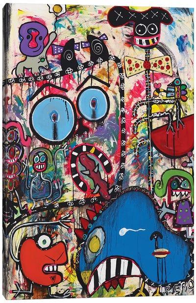 Happy Chichen Canvas Art Print