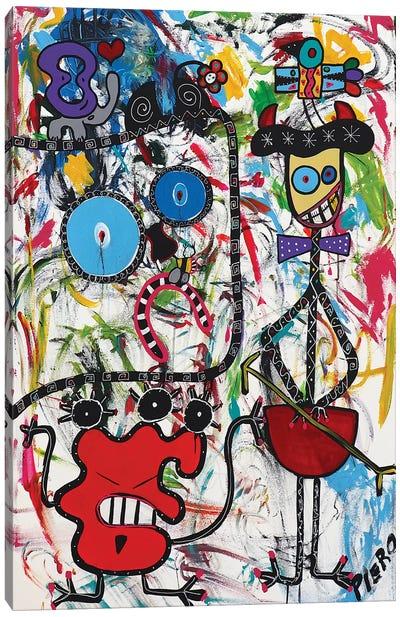 Happy Mook Canvas Art Print