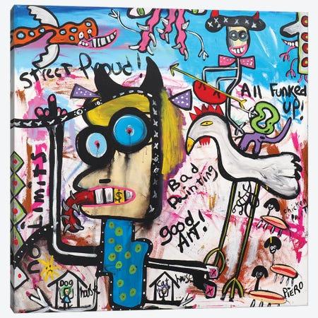 Bad Hair Day Canvas Print #PIR6} by Piero Canvas Print