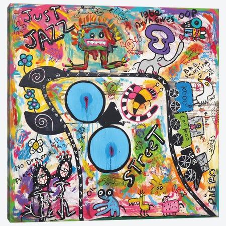 Just Jazz Canvas Print #PIR78} by Piero Canvas Art