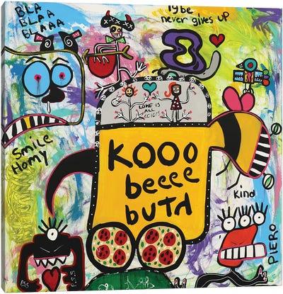 Koo Bee Canvas Art Print