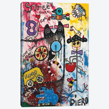Kooo 3-Piece Canvas #PIR85} by Piero Canvas Wall Art