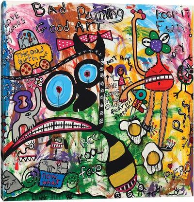 Bee Cool Canvas Art Print