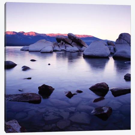 Purple Rocks Canvas Print #PIS113} by PhotoINC Studio Canvas Art