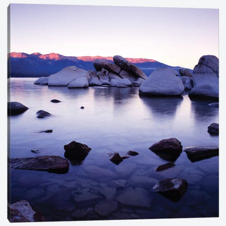 Purple Rocks Canvas Print #PIS113} by PhotoINC Studio Canvas Art