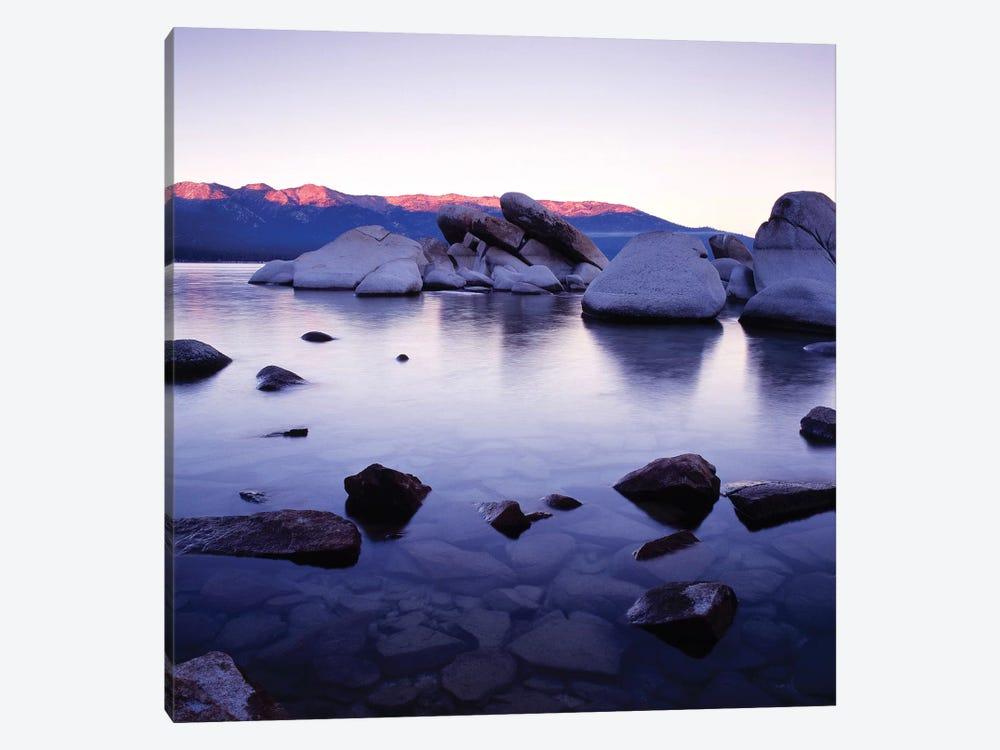 Purple Rocks by PhotoINC Studio 1-piece Canvas Artwork