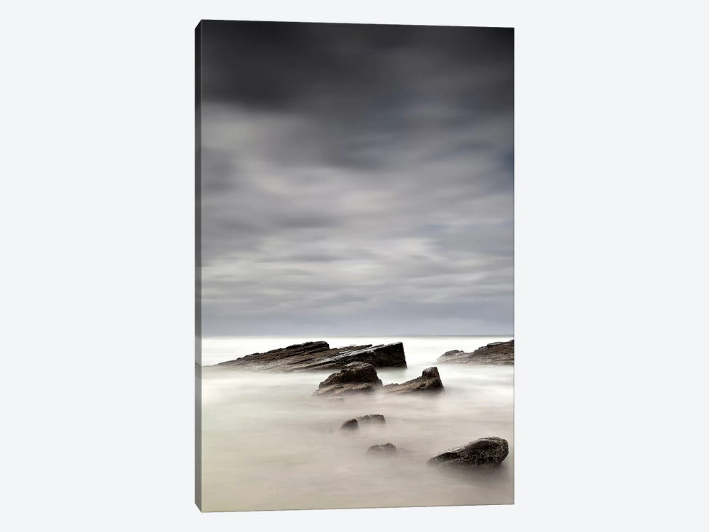 Rocks In Mist I by PhotoINC Studio 1-piece Canvas Artwork