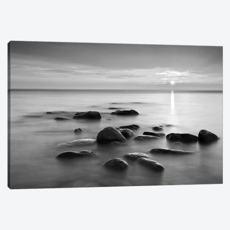 Rocks In Mist II Canvas Print #PIS121} by PhotoINC Studio Canvas Art Print