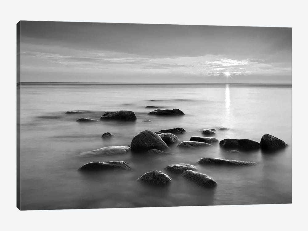 Rocks In Mist II by PhotoINC Studio 1-piece Canvas Print