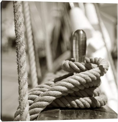 Sail Rope Canvas Art Print