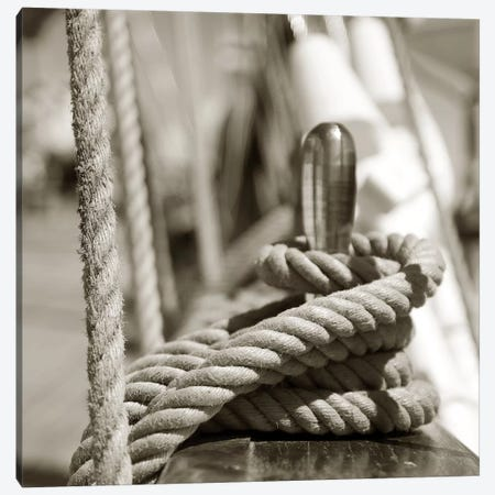 Sail Rope 3-Piece Canvas #PIS122} by PhotoINC Studio Canvas Art Print
